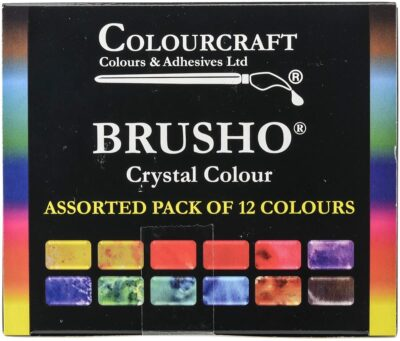 Brusho pigments