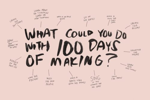 Creative ideas of things to do for art challenges.