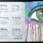 Sample bullet art journal page