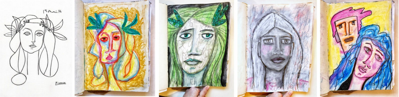 art journal reference inspiration example